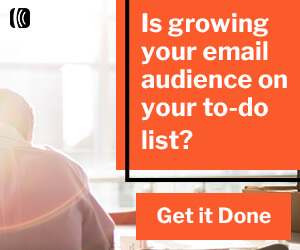 Is growing your email audience in your to do list? Get It Done